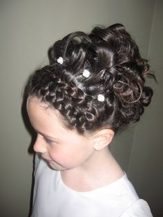 Special Occasion Hair. So pretty!
