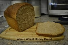 Eco-novice: Going Green Gradually: How to Make a Beautifully Risen Loaf of 100% Whole Wheat Bread