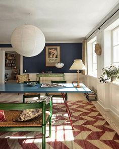 Tina Seidenfaden Busck På Instagram The Ious Central Room At Apartment Accommodation Functioning As Dining Or Worke