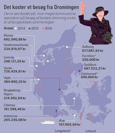 Lolland fik Danmarks dyreste dronningebesøg | Nyheder | DR