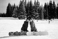Love this... Picture of best friend and I snowboarding... I'm definitely going to do this!!