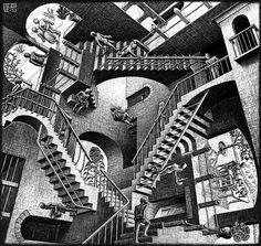 M. C. Escher - Relativity