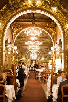 Paris, Le Train Bleu ♠  | da RebeccaDalePhotography