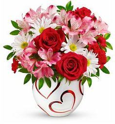 Valentine's Delight Bouquet #valentines #flowers