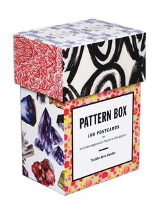 Pattern Box: 100 Postcards by Ten Contemporary Pattern Designers by Textile Arts Center, http://www.amazon.co.uk/dp/1616891882/ref=cm_sw_r_pi_dp_rJ1fsb0YKK750
