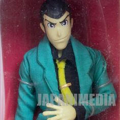 Lupin the Third (3rd) LUPIN 7inch Full Action Figure Banpresto JAPAN ANIME MANGA