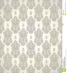 Vintage Wallpaper Seamless Pattern | Royalty Free Stock Images Seamless Vintage Wallpaper Pattern Pictures