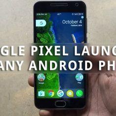 Ya puedes instalar Pixel Launcher en tu Android