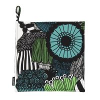 Pieni Siirtolapuutarha pot holder - blue-green (Finland 100 years) - Marimekko