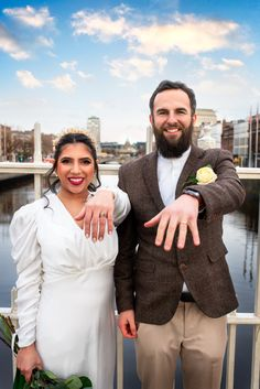 Pictures in Ha'Penny Bridge. Wearing @chupijewelry wedding bands Wedding Bands, Wedding Day, Dublin City, Wedding Photoshoot, Wedding Pictures, Bridge, Weddings, How To Wear, Pi Day Wedding