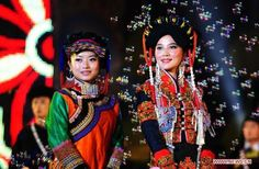 Beauty contest held during the Torch Festival.