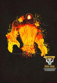 Image result for warcraft fire elemental