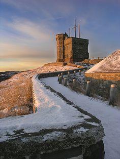 Cabot Tower, St. John's Newfoundland, Canada