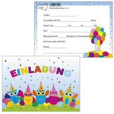 Einladungskarten Zum Geburtstag : Einladungskarten Zum Geburtstag Schreiben - Kindergeburtstag Einladung - Kindergeburtstag Einladung