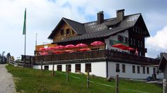 Die Gablonzer Hütte / Gosaukamm, Oberösterreich