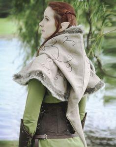 KOSTÜMTRUHE   Verkauf & Versandhandel, mittelalterliche Kleidung, Kostüme & Gewandungen, Zubehör aus Ritterzeit und Piratentum - Winter Gugel Elfen