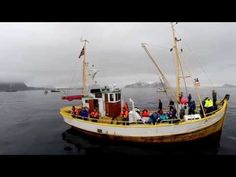 World Championship in Cod Fishing seen from a multicopter - YouTube