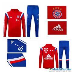 Le Nouveau Survetement Bayern Munich Rouge 15 2016 2017 Prix Pas Cher