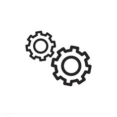 Gear icon vector | free image by rawpixel.com Cute App, App Background, Iphone Wallpaper Tumblr Aesthetic, Iphone Wallpaper App, App Icon, Apple Icon, App Pictures, Ios Icon, Instagram Icons