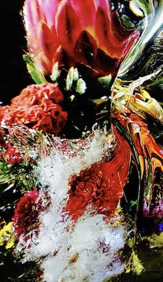 """Exhibition """"ICED FLOWERS"""""""