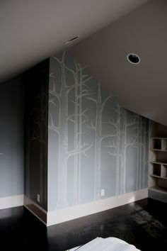 great wall painting idea for the nature lover like me!
