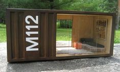 Cargo Container Homes Interiors | ... pods shipping container replica Tiny Interior Design Modern Miniatures