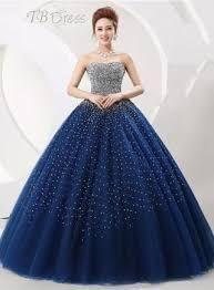 Resultado de imagen para vestidos de 15 años azul claro