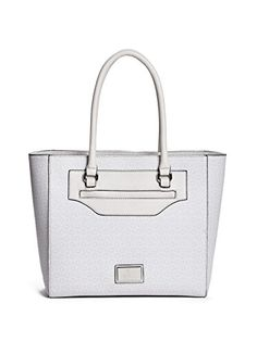 bd29aa3f63ea GUESS Women s Daly Signature Logo Tote Handbag Guess Handbags
