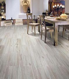 BuildDirect – Porcelain Tile - Rustic Cariboo Series – Gray Oak - Living Room View