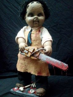 Lil' Leatherface Texas Chainsaw Massacre by GrayOddities on Etsy, $200.00