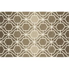 Area Rugs - Color: Black-Brown & Tan-Gray & Silver, Rug Size: 7' X 9' | Wayfair