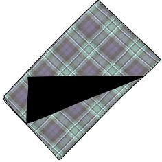 Fleece Backed Tartan Throw in MacCallum modern