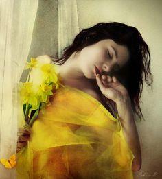 yellow; by Sabina R.