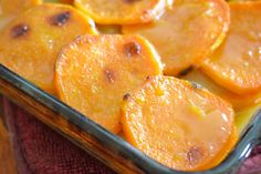 Cider-Glazed Sweet Potato & Apple Bake - The Foodie and The Fix