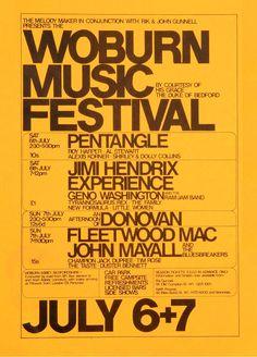 Woburn Music Festival | concert poster