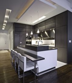 I Like The Ceiling Detail.Timeline By Aster Cucine   Contemporary   Kitchen    New York   Urban Homes   Innovative Design For Kitchen U0026 Bath