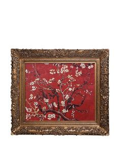 Vincent Van Gogh Branches of An Almond Tree in Blossom Framed Oil Painting, http://www.myhabit.com/redirect/ref=qd_sw_dp_pi_li?url=http%3A%2F%2Fwww.myhabit.com%2Fdp%2FB008LT9E22