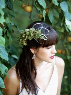 botanical hairpiece - Portland B&G magazine, Françoise Weeks