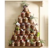 advent calendar | Pottery Barn--Doesn't this remind you of a certain laundry themed 4-H poster from days past?