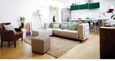 Apartamento espacioso y luminoso - Un apartamento luminoso - Pequenas pocos metros - Decoracion casas - Decorar casa, reformas y obras, casas pequeñas, piso de pocos m2 - CASADIEZ.ES