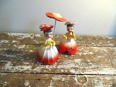 Napco Flower of the Month Pixie Girl Miss by VintageShoppingSpree, $38.00