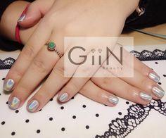 Unicorn Chrome #nail #nails #nailart #nailpolish #naildesign #nailswag #manicure #fashion #shellac #nailstagram #nailsalon #instanails #nails2inspire #love #ネイル #art #gelnail #cute #gelnails #polish #style #gel #naildesigns #instanail  #nailtech #painting #mirroir #chromenails #unicornpower