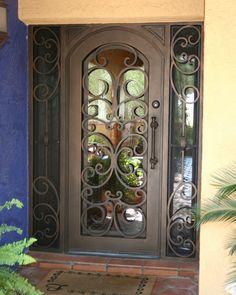 Bristol Iron Entry Doors #Firstimpression