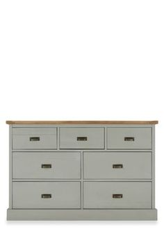 Buy Shoreditch® Grey Wide Chest from the Next UK online shop £375