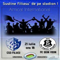 Amical International pe stadionul Orasenesc : CSO Filiasi – FC Bdin Vidin