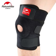 Naturehike Adjustable Elastic Knee Pad Comfortable Breathable For Sports Free Size NH15A001-M