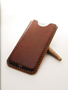 Image of iPhone 6 PLUS Card Carrier Leather Phone Case