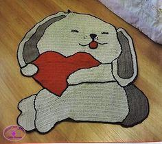 Amor por Art em Crochê: VáriosTapetes Infantis de Crochê