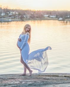Gravidklänning Gravidfotografering med annasundhedenphotography Lidingö Stockholm