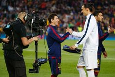 """21 of the best quotes from soccer superstar Zlatan Ibrahimović:     In an interview with Sports Illustrated, Zlatan was asked to describe Cristiano Ronaldo and Lionel Messi, whom he called """"good"""" and """"fantastic."""" Upon being asked to describe himself, Ibrahimovic said: [he is] """"Wow."""""""